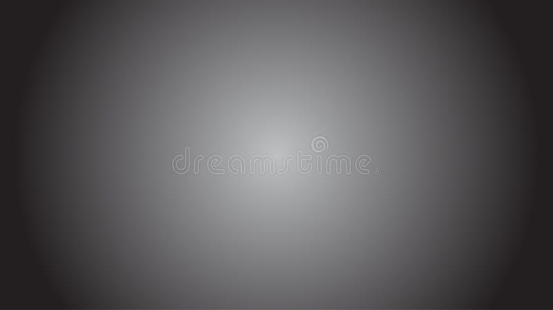 Site Web graphique d'image de fond de tache floue de fond de studio abstrait blanc noir de gradient images libres de droits