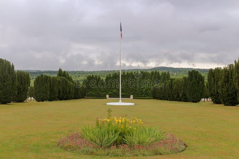 Site WW1 grave pour les soldats tombés photographie stock libre de droits