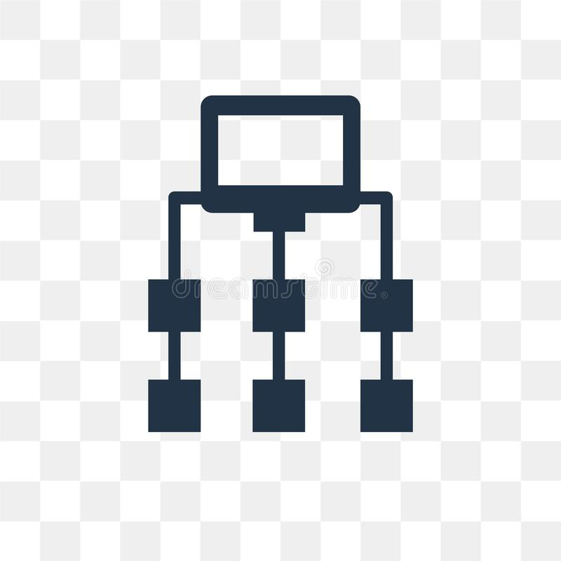 Sitemap在透明背景隔绝的传染媒介象, Sitemap 皇族释放例证