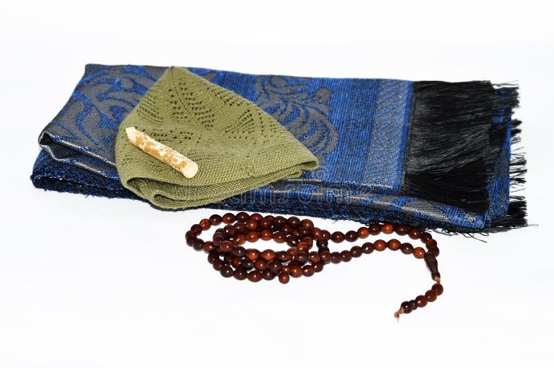 Sites e agências de propaganda religiosas para doces da oração, misvak, e imagens do rosário imagens de stock