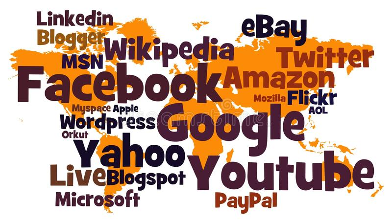 Sites Web illustration stock