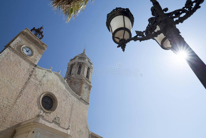 Sitges, Каталония, Испания стоковая фотография