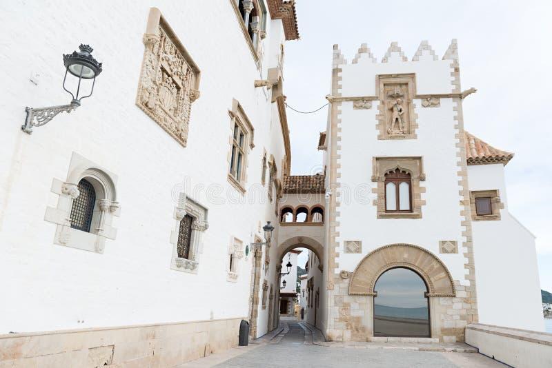 Sitges - Barcelona (Spanien) arkivfoto