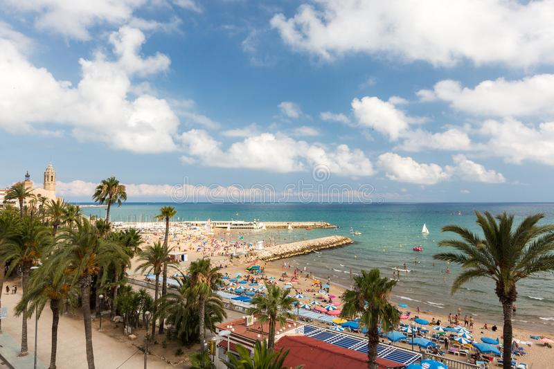 Sitges, Barcelona royalty free stock photo