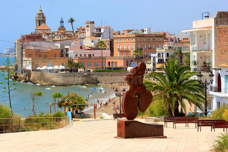 Sitges, Barcelone, Espagne photographie stock