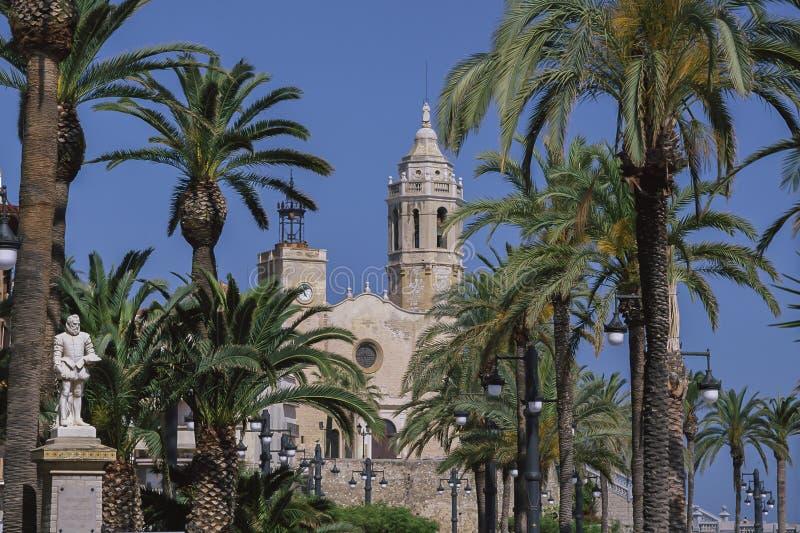 SITGES.COSTA DORADA,SPAIN stock photos
