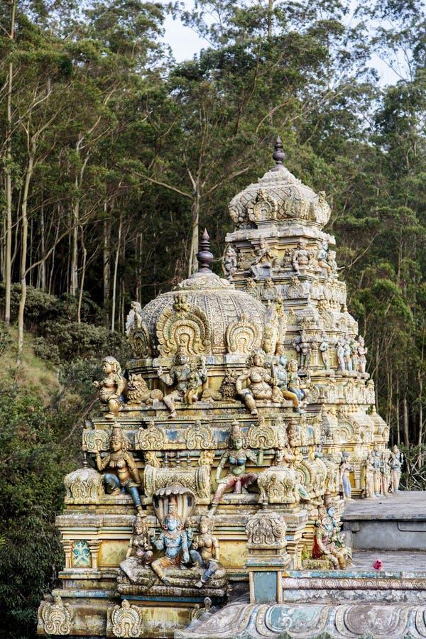 Sithaamman Tempel in Nuwara, Sri Lanka royalty-vrije stock fotografie