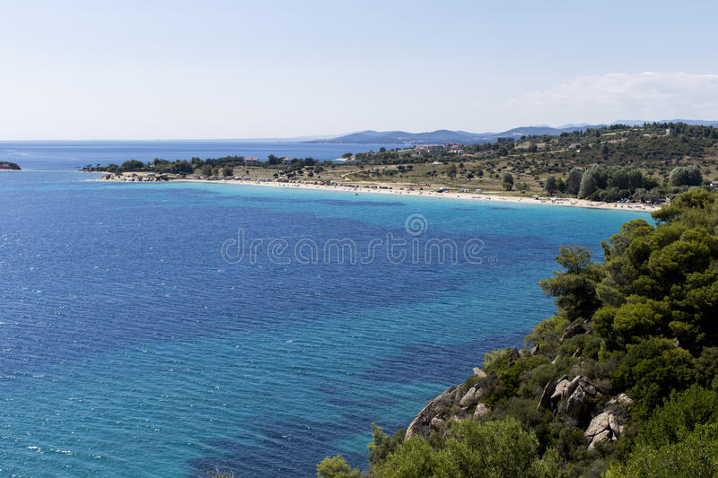 Sithonia, Greece royalty free stock images
