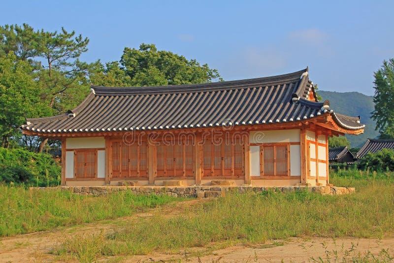 Siti del patrimonio mondiale dell'Unesco della Corea - villaggio delle gente di Hahoe fotografie stock