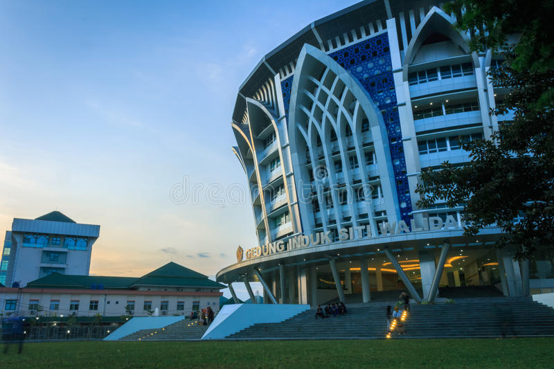 Siti Walidah byggnad royaltyfria bilder