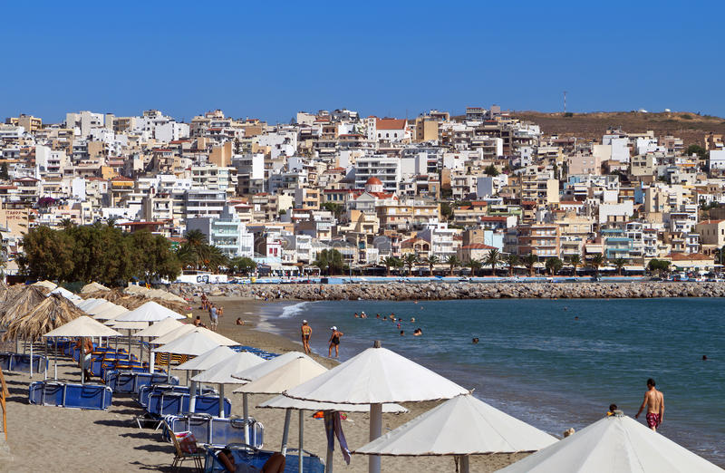 Download Sitia City At Crete Island, Greece Stock Image - Image of europe, hellas: 27883949