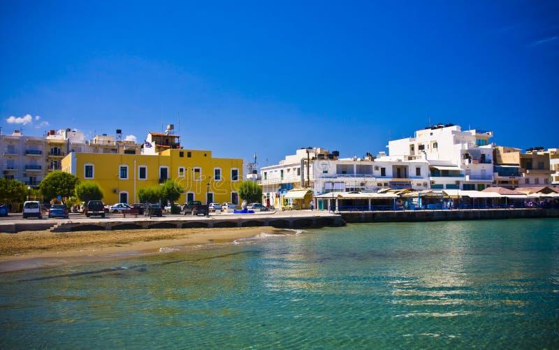 Sitia Grecia Creta foto de archivo libre de regalías
