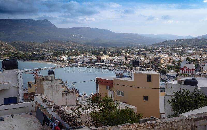 Sitia, NE Crete royalty free stock photo