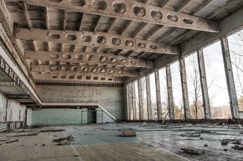 Sitio abandonado en chernobyl fotos de archivo
