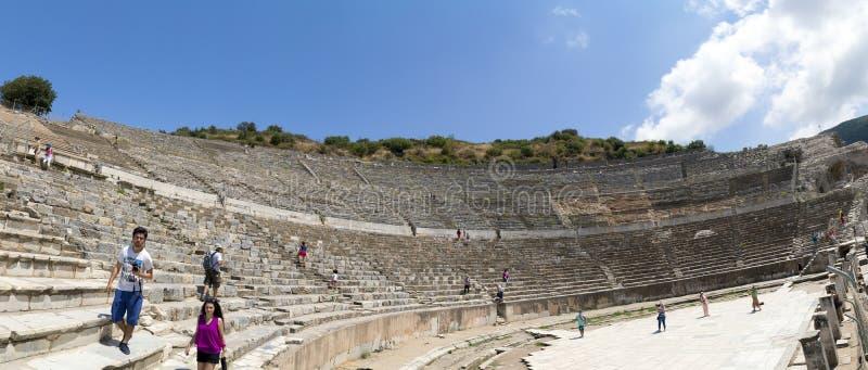 Sitio antiguo de Ephesus, Turquía imagen de archivo
