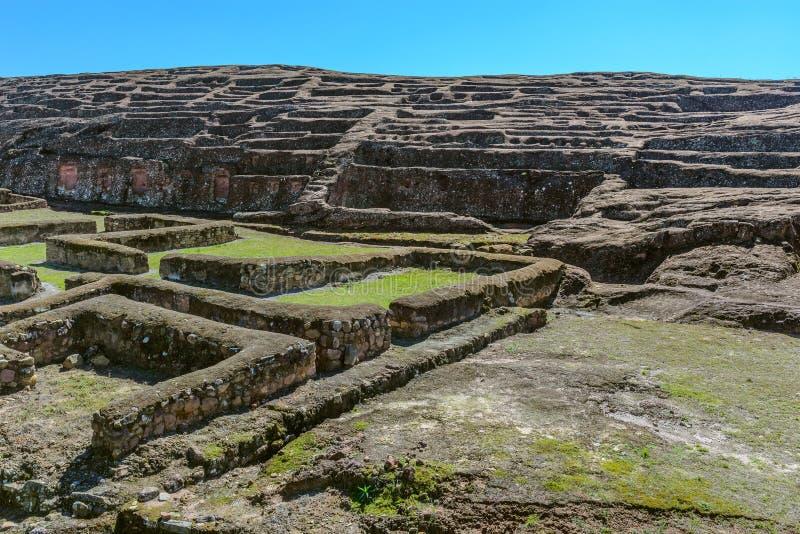 Sitio arqueológico de El Fuerte de Samaipata, Bolivia imagen de archivo libre de regalías