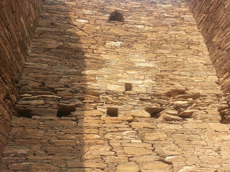 Sitio arqueológico de Takht-i-Bhai Parthian y monasterio budista fotos de archivo libres de regalías