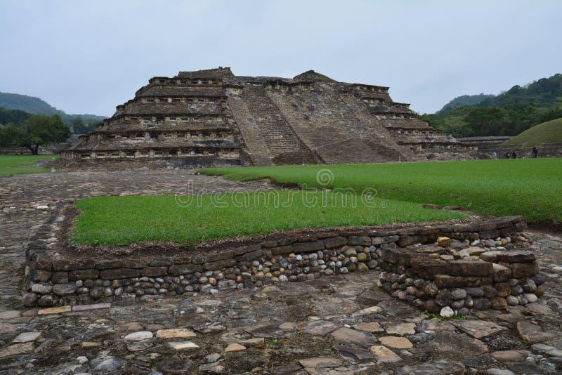 Sitio arqueol?gico Veracruz M?xico del EL Tajin fotos de archivo libres de regalías