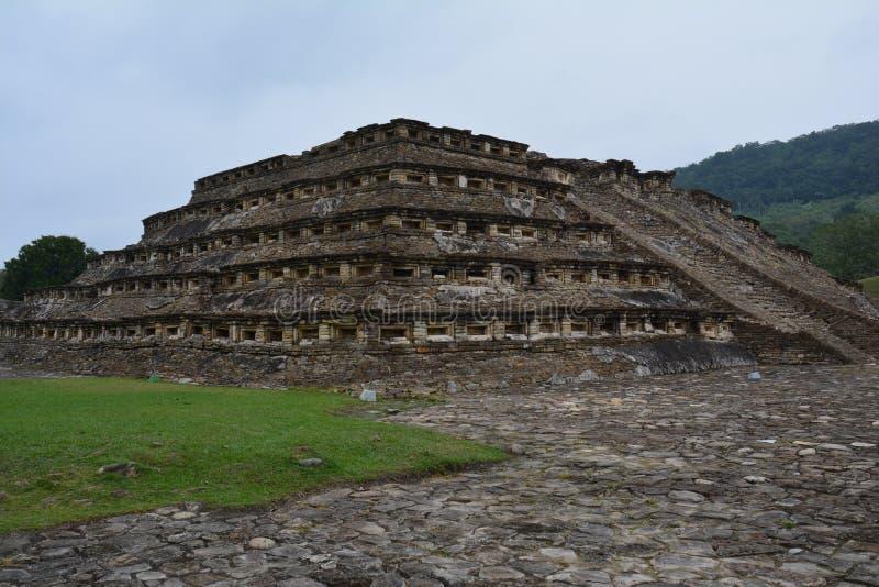 Sitio arqueol?gico Veracruz M?xico del EL Tajin foto de archivo