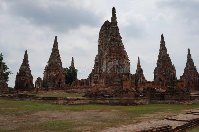 Sitio Bangkok del patrimonio mundial de Ayutthaya foto de archivo