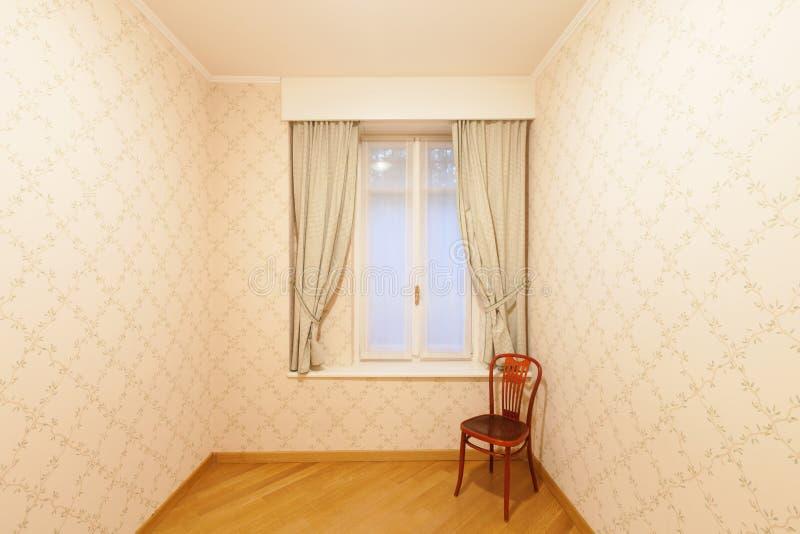 Sitio con tapicería en las paredes imágenes de archivo libres de regalías