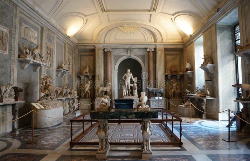 Sitio de animales en la Ciudad del Vaticano fotos de archivo