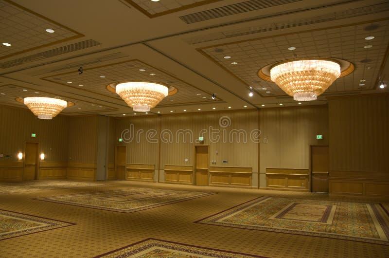 Sitio de bola del hotel fotografía de archivo