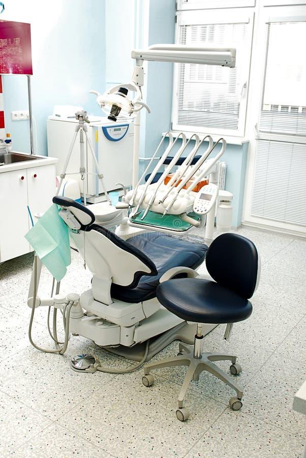 Sitio de consulta en clínica dental fotos de archivo