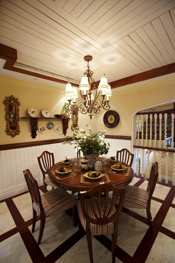 Sitio de Dinning foto de archivo