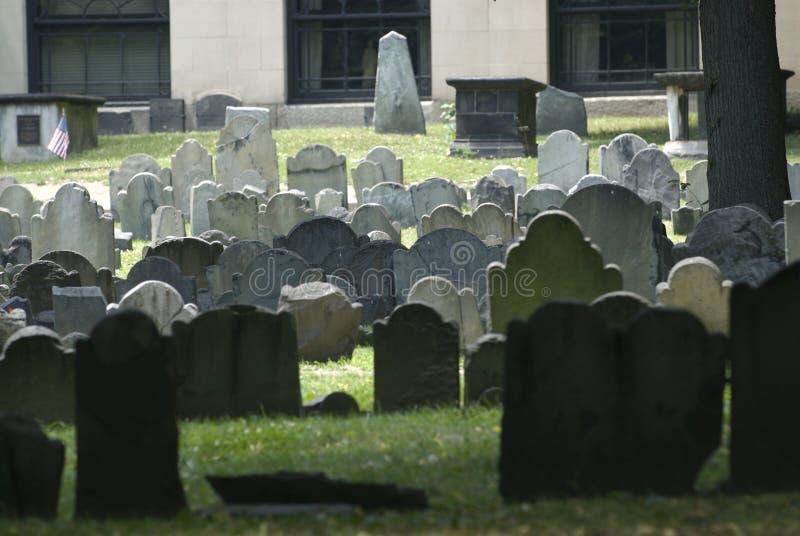 Sitio de entierro de Boston imágenes de archivo libres de regalías
