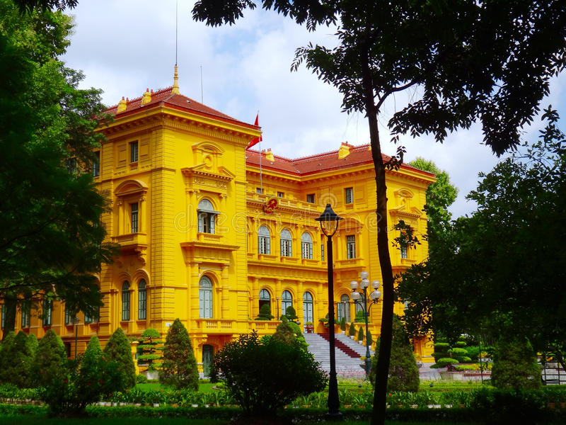 Sitio de Ho Chi Minh Presidential Historical fotos de archivo