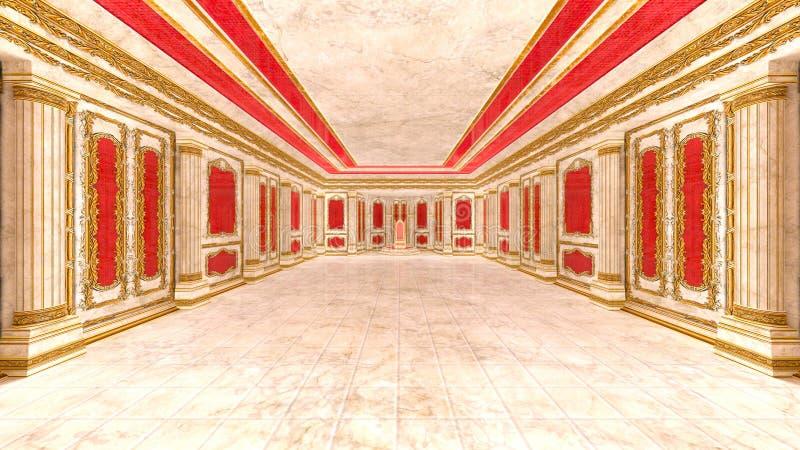 Sitio de la audiencia ilustración del vector