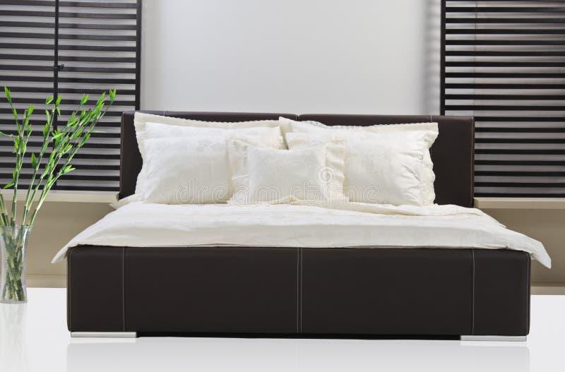 Sitio de la cama fotos de archivo