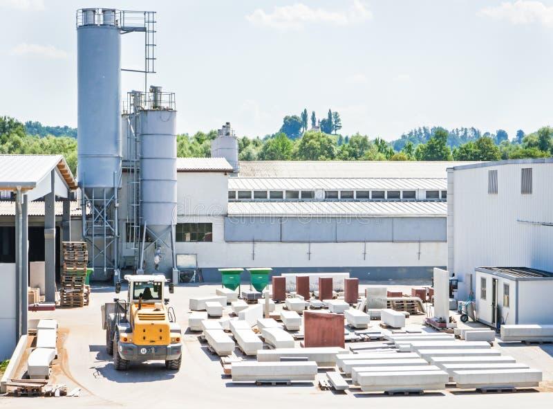 Sitio de la fábrica fotos de archivo