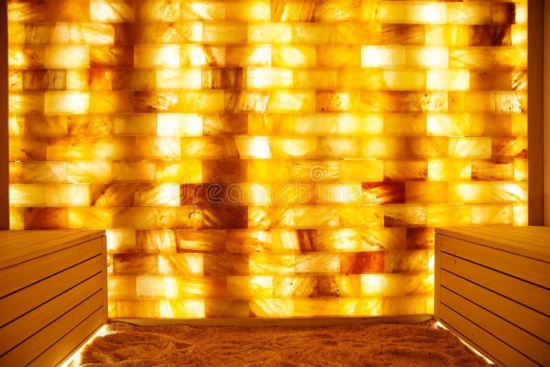 Sitio de la sal en balneario-centro imágenes de archivo libres de regalías