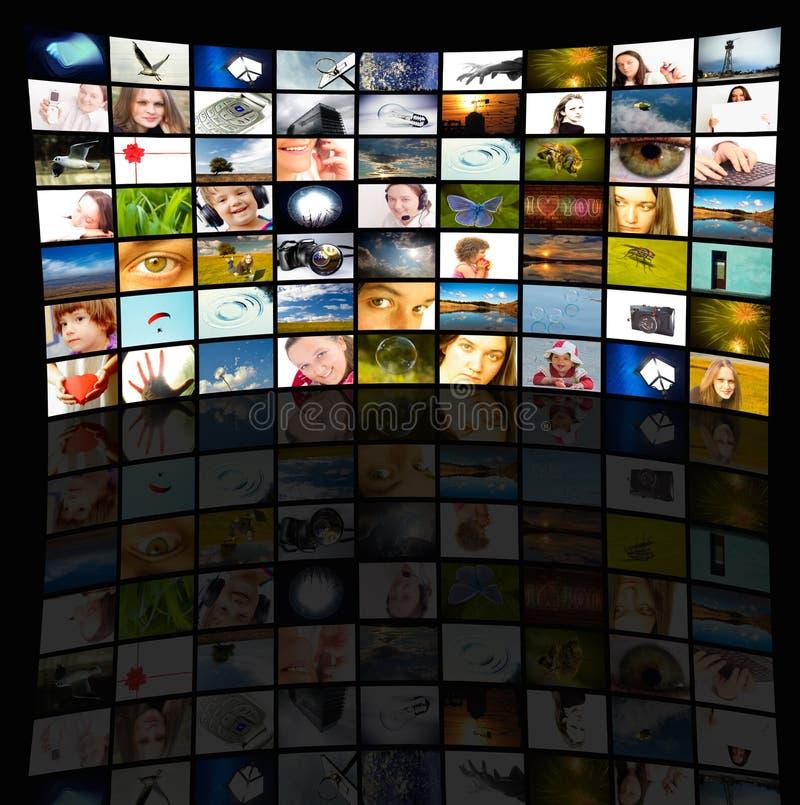 Sitio de los media imágenes de archivo libres de regalías