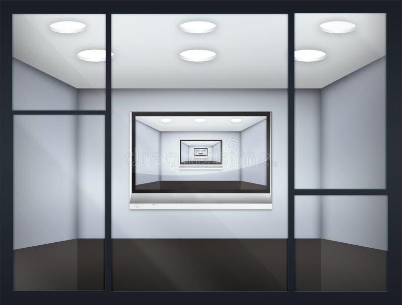Sitio de los media ilustración del vector