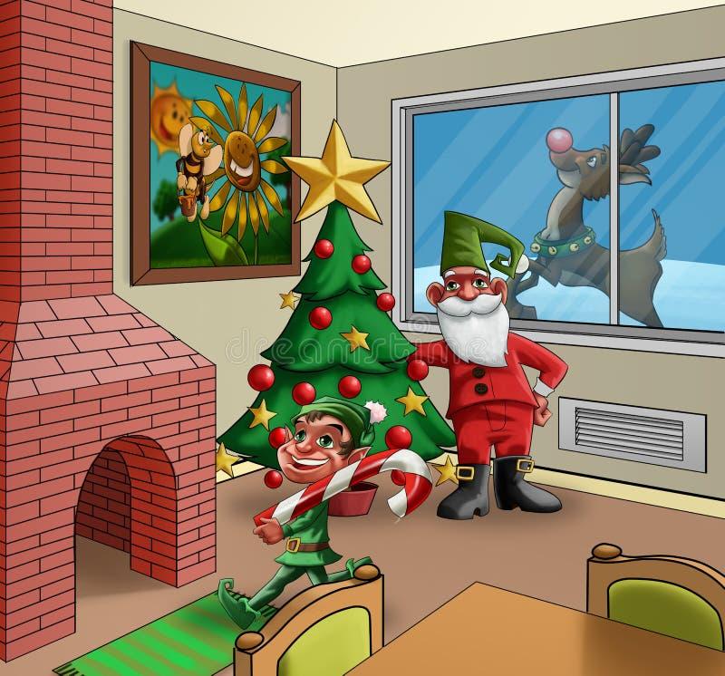 Sitio de Navidad libre illustration