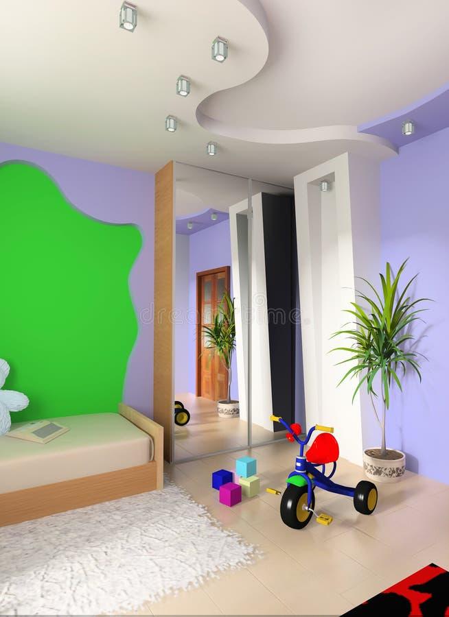 Sitio de niños libre illustration