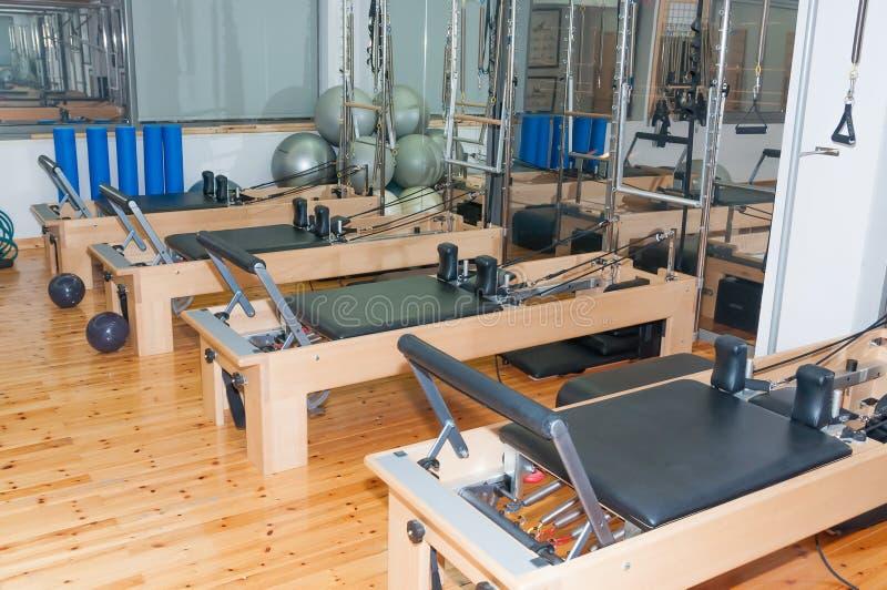 Sitio de Pilates foto de archivo