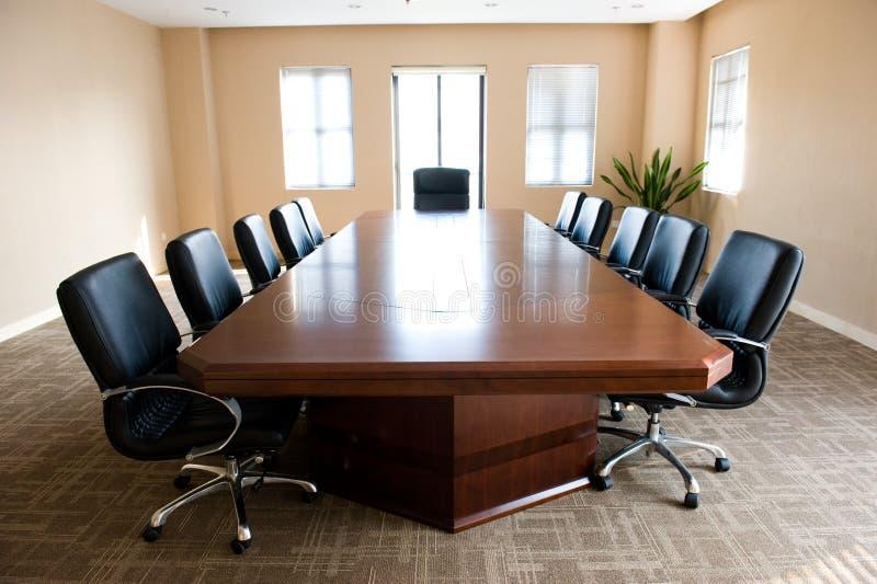 Sitio de reunión de negocios fotos de archivo