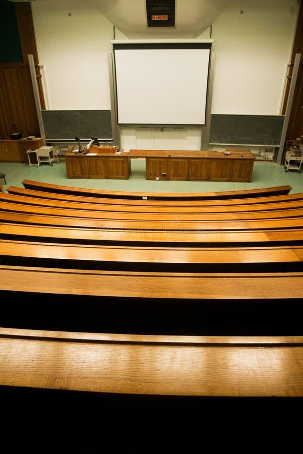Sitio de seminario foto de archivo