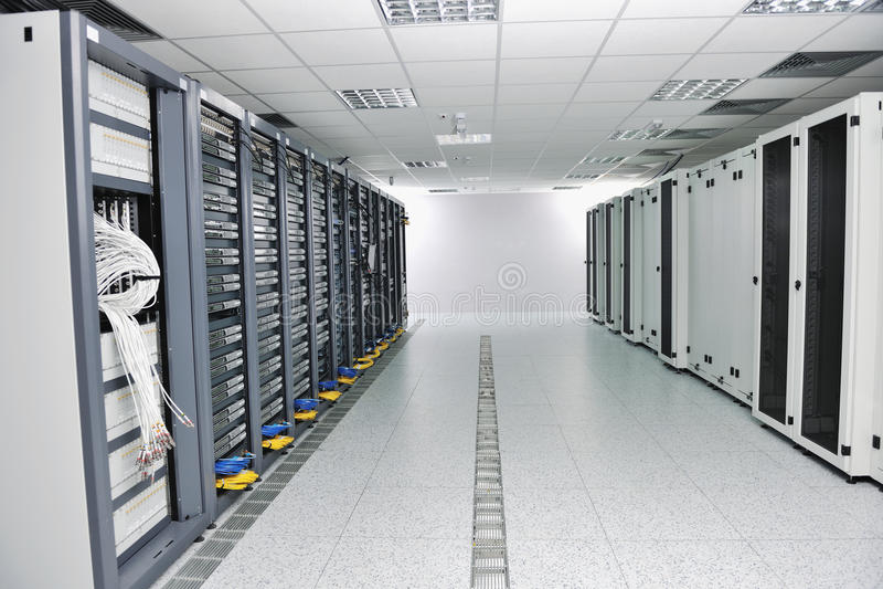 Sitio de servidor de red fotos de archivo libres de regalías