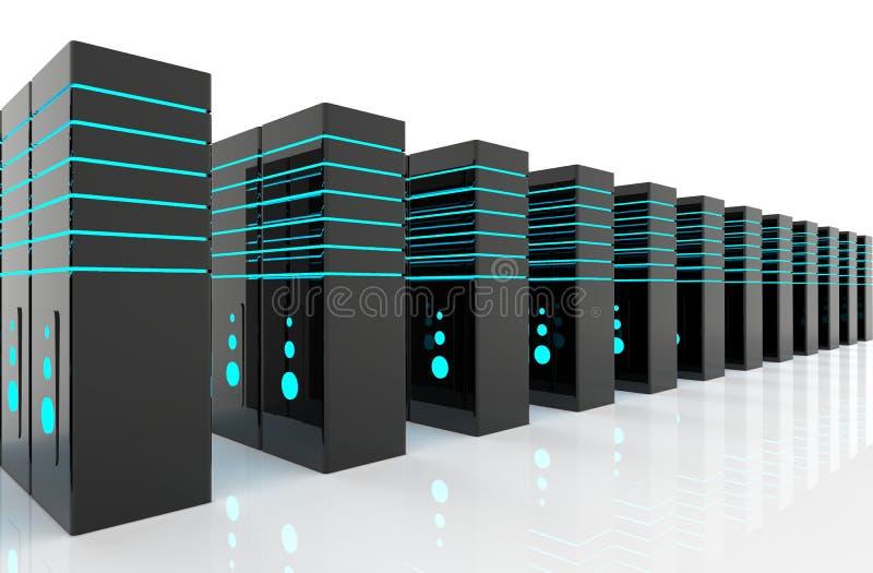 Sitio de servidor de red fotos de archivo