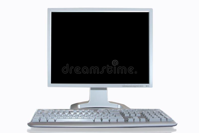 Sitio de trabajo de la PC imágenes de archivo libres de regalías