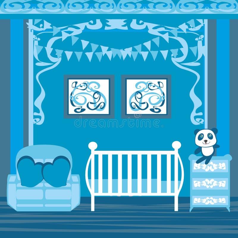 sitio del bebé libre illustration