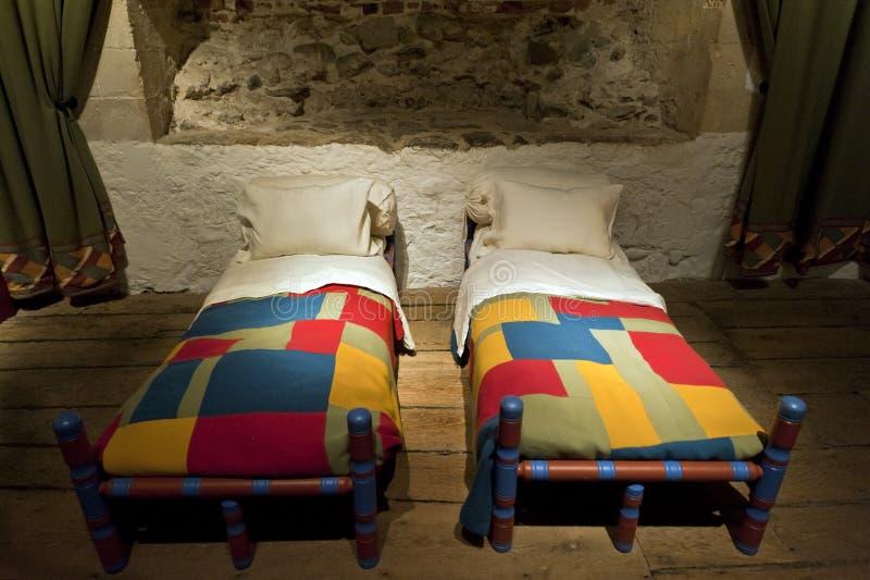 Sitio del compartimiento de la cama de los reyes del castillo de Dover fotos de archivo