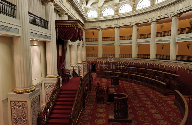 Sitio del congreso fotografía de archivo libre de regalías