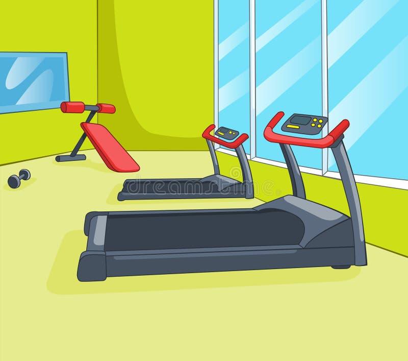 Sitio del gimnasio libre illustration