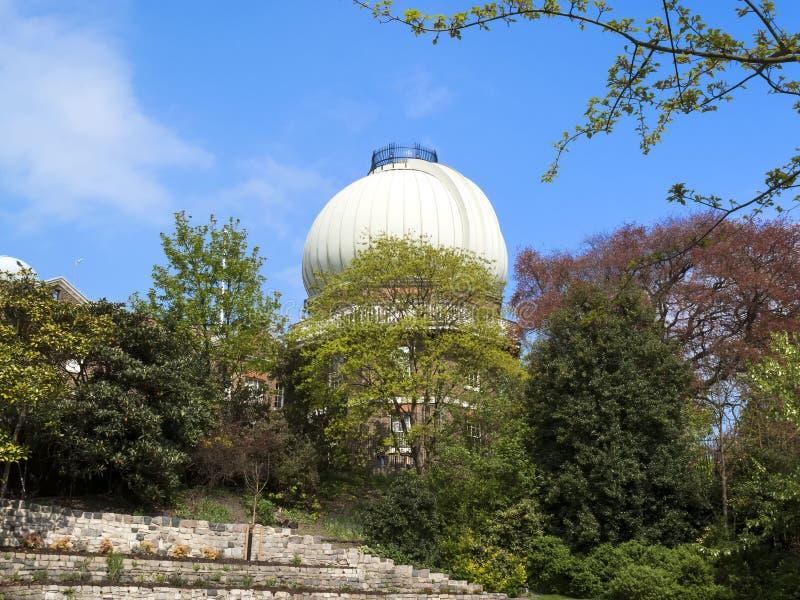 Sitio del octágono del observatorio real en Greenwich imágenes de archivo libres de regalías